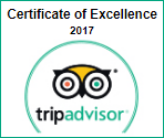 tripadvisor certificate excellence 2017