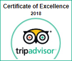tripadvisor certificate of excellence 2018 - The Braemar