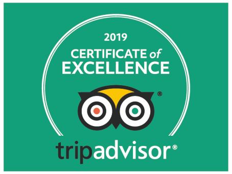 tripadvisor certificate of excellence 2019 - The Braemar